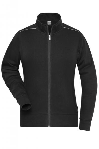 Ladies' Workwear Sweat-Jacket - SOLID -