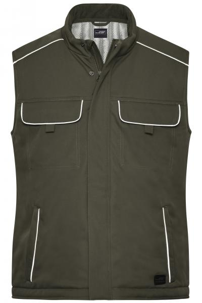 Workwear Softshell Padded Vest - SOLID -