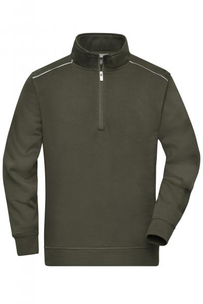 Workwear Half-Zip Sweat - SOLID -