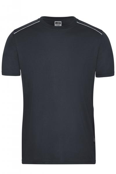 Men's Workwear T-Shirt - SOLID -